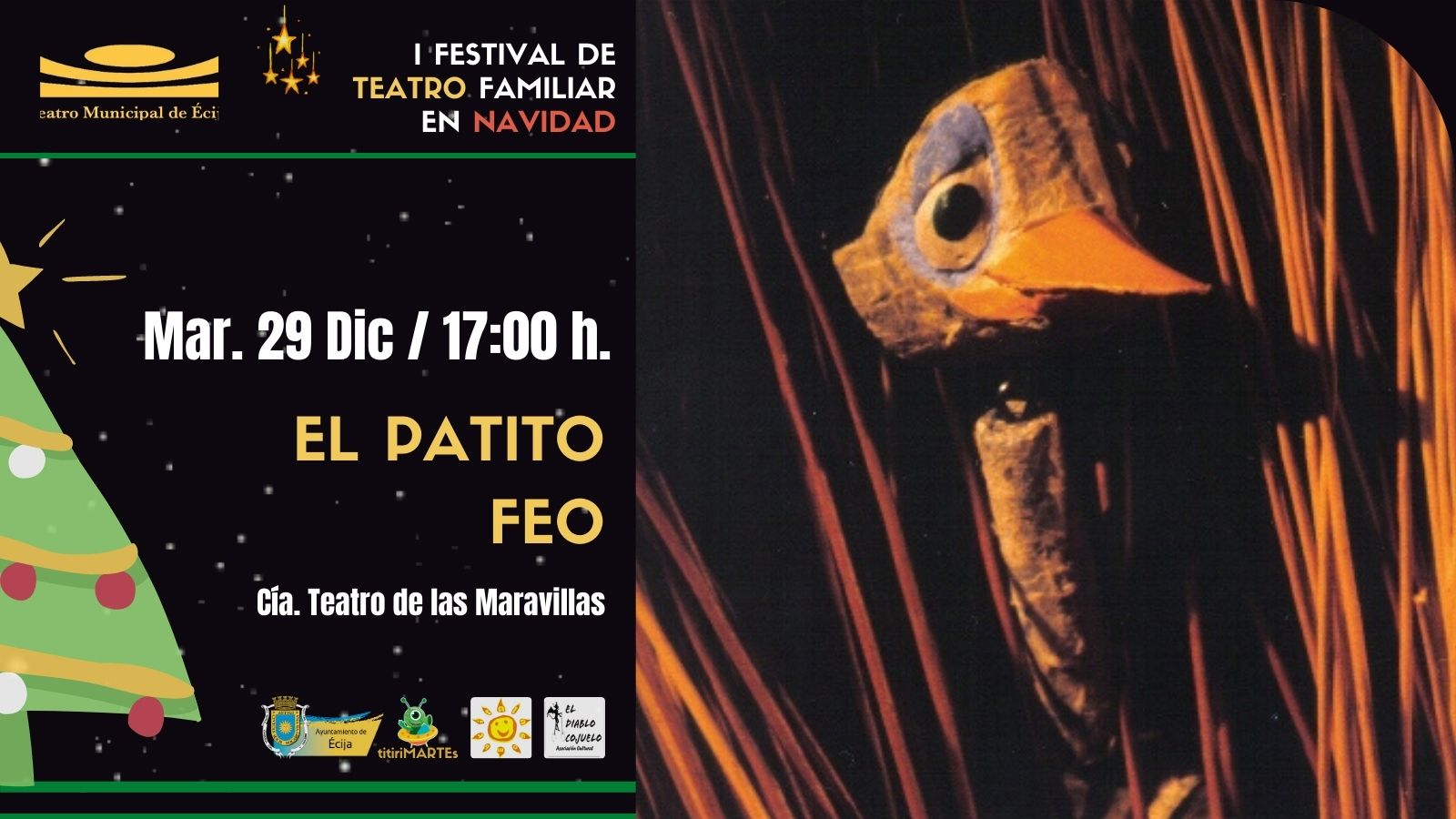 I Festival Teatro Navidad Ecija - El Patito Feo